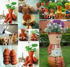Decorazioni da Giardino con Vasi di Terracotta | MondoDesign.it