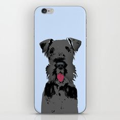 Kerry Blue TerrierDog On Phone Case - robust, personalised, plastic case iPhone 5C, iPhone 6, iPhone 6 Plus,Samsung Galaxy S3, Samsung Galaxy S4. Make your
