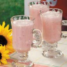Creamy Strawberry Punch Recipe