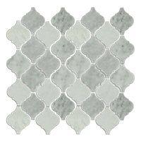 Biltmore Polished Arabesque Marble Mosaic Tile $24.99 Sq Ft      Coverage 10.33 Sq Ft per  Box