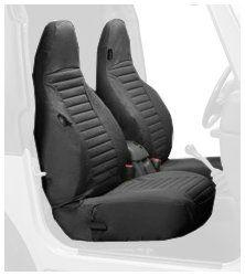Bestop 29226 15 Black Denim Front High Back Seat Cover Set For 97 02 Wrangler Tj Durable Autom Back Seat Covers Wrangler Accessories Jeep Wrangler Accessories