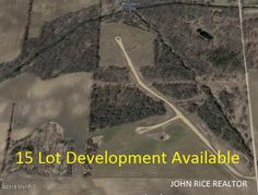Prime Development Opportunity with 15 lots, road, and more. This 39+ acre site condo community has been approved under the name of Woodland Creek Farms Condominiums and features 15 multi-acre sites. Each site offers large building envelopes, well designed open space and each site perks! With Woodland Creek bordering the East and Little Thornapple River bordering the North, this development offers amazing opportunity to create a landscape future home owners …Follow link for more information.
