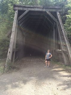 This Amazing Hiking Trail In Idaho Takes You Through An Abandoned Train Tunnel Vacation Places, Best Vacations, Vacation Destinations, Vacation Trips, Vacation Spots, Places To Travel, Places To See, Camping And Hiking, Hiking Trails