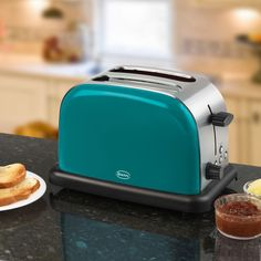 Swan 2 Slice Teal Toaster ST14010TELN   Toasters     Electrical Appliances from Wilkinson Plus