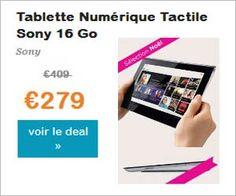 Tablette Sony Tablet S 16 Go 9,4 pouces WiFi à 279 euros au lieu de 409 avec livraison incluse   Maxi Bons Plans