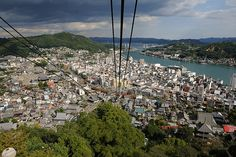 Cable car wide view
