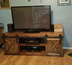 To make it greater, consider making a DIY TV stand because it will add an upscale look to your TV as well as providing a better viewing pleasure without.