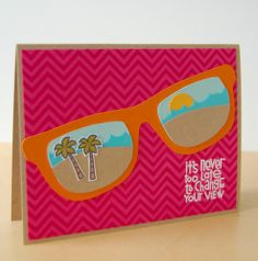 Card by SPARKS DT Katie Gehring PS stamp sets: Geo-Graphic, Get Outta Town; PS dies: Borders 1