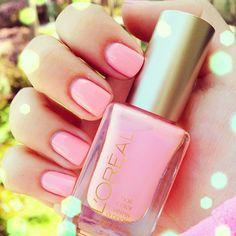 L'Oreal Pink Macaroon Me Madly by Ingrid Nilsen, I want this color so so so bad... drove all over trying to find it =(