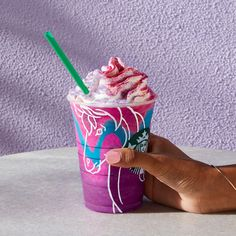 How To Make a Unicorn Frappuccino at Home | Food & Wine