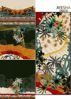 Textile Prints, Textile Design, Art Prints, Geometric Flower, Geometric Art, Flower Art Images, Paisley Art, Design Seeds, Print Design