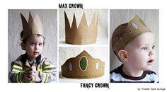 Tutorial for making funky Cardboard Crowns <3