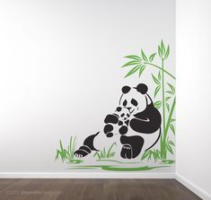 Creative Wall Painting, Wall Painting Decor, Mural Wall Art, Wall Decor, Simple Wall Paintings, Deco Design, Wall Design, Nursery Wall Stickers, Wall Drawing