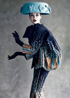 DIOR | DIOR COUTURE, PHOTO BY PATRICK DEMARCHELIER #boldstatements #fashion #Sewcratic
