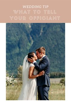 What to tell your wedding officiant Wedding Officiant, Wedding Tips, To Tell, Told You So, Couple Photos, Couples, Marriage Tips, Couple Shots, Marriage Celebrant