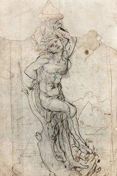 謎の絵の作者はレオナルド・ダ・ヴィンチだった  鑑定人も驚愕「目玉が飛び出た」(画像)