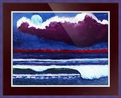 Moonlit Dawn Seascape C5 by Ricardos Creations