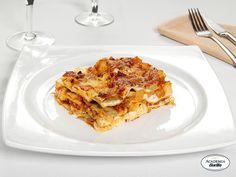 Lasagne alla Bolognese con carciofi e patate