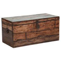 Bali Large Recycled Wood Box