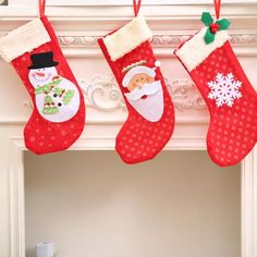 Christmas Stockings Socks Santa Claus Candy Gift Bag Xmas Tree Decor Decorations Festival Party Ornament
