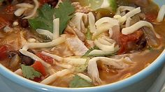 Get this all-star, easy-to-follow Chicken Tortilla Soup recipe from Danny Boome
