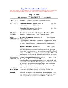 Sample Resume Nurse | Sample Resume and Free Resume Templates