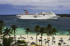 Carnival Sensation in Nassau Bahamas