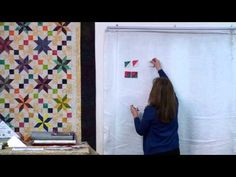 ▶ LeMoyne Magic - Strip Pattern by Cozy Quilt Designs - YouTube - using strip tube ruler