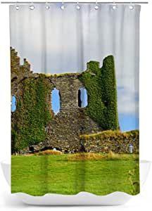 fotobar!style Duschvorhang 140 x 200 cm EIN Motiv aus dem Kalender Irland - Abteien und Burgen Bar, Pictures, Ireland, Calendar, Products