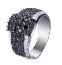 Black & White Diamonds Ring