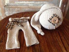Foto de niños recién nacidos Prop suéter por FunkyJunkyPeacock