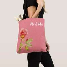 Shop Gentle Rose design Pink Tote Bag created by Buy_ArtDuo. Pink Tote Bags, Reusable Tote Bags, Bags Uk, Designer Totes, Rose Design, Luxury Handbags, Leather Handle, Custom Clothes, Shopping Bags