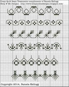 Fou courtepointe et la broderie Blog par Pamela Kellogg de Kitty et moi Designs: Imprimables gratuit
