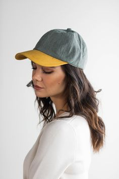 Jojo Ballcap - Grey and Caramel Cap Girl, She Is Clothed, Wearing A Hat, Trends, Hat Sizes, Face Shapes, Hats For Women, Lady, Baseball Cap