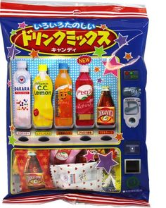 Lotte Drink Mix candy #Japanese candy #Japanese snack