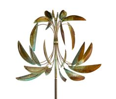 "A Beautfiul ""Fleur-de-lis"" Wind Sculpture by Artist Lyman Whitaker"