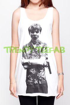 Leonardo DiCaprio Shirt Young Actor Women White by TrendyTeeFab