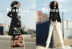 Proenza Schouler Fall 2016 Ad Campaign featuring Selena Forrest photographed by Zoe Ghertner