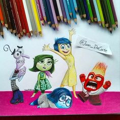 This Emotional 'Inside Out' Fan Art Will Get You Ready for Disney Pixar's New Animated Movie: