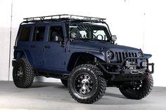 2013 Jeep Wrangler Unlimited (24S Pkg) Ferrari Blue THE ULTIMATE