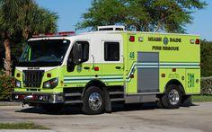 Miami-Dade Fire Rescue<br /> Miami-Dade County, Florida<br /> Fontainebleau<br /> Rescue 48<br /> 2010 Spartan Furion/Braun<br /> Photo by: Alex M. Poitevien Jr.
