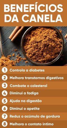 Veja os benefícios da canela :) Saiba mais no site www.meularminhapaz.com.br #dicadodia #saúde #saudável #alimentacaosaudavel #canela