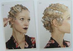 Tutoriel et inspirations carré boucles crantées, coiffure