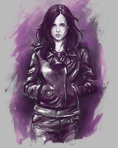 """Jessica Jones"" by John Mcguiness"