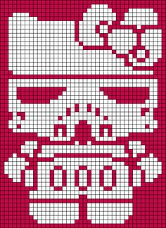 Alpha Pattern #5944 Preview added by z0mg Hello Kitty Storm Trooper