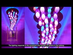 Cloud - Interactive Light Art Installation for Boffo Show House