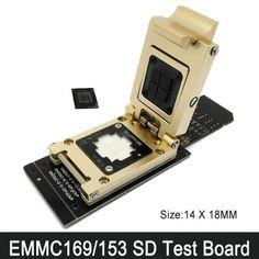 eMMC153 eMMC169 Test Socket Adapters FBGA169 FBGA153 SD eMMC IC Test Socket http://www.obd2cartool.com/emmc153-emmc169-test-socket-adapters-fbga169-fbga153-sd-emmc-ic-test-socket-p-880