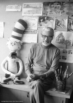 Dr. Seuss Made Paintings and Sculptures in Secret (and Now You Can See Them)   The Creators Project
