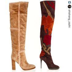 The #fw15 trends in #boots #patchwork #footwear #fashion #fashionable #accessories #style #luxury #moda #woman #women #womenstyle #womenswear #womensfashion #instafashion #blog #fashionblog #gianvitorossi  #burberry #mujer #botas #trend #blogger #SZReport #shishang_zazhi #color #otoño  https://t.co/qBtEv74YRh