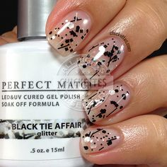 LeChat Pop of Vogue - Black Tie Affair swatch